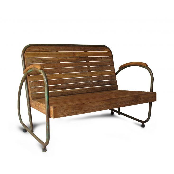 Industrial Garden Bench Outdoor Furniture £ 648.00 Store UK, US, EU, AE,BE,CA,DK,FR,DE,IE,IT,MT,NL,NO,ES,SE