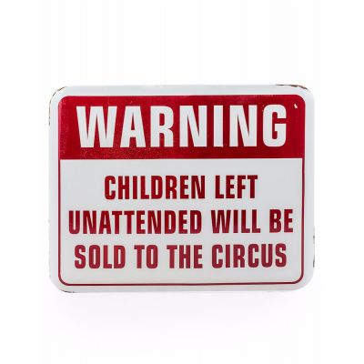 Warning Sign Retro Signs £ 15.00 Store UK, US, EU, AE,BE,CA,DK,FR,DE,IE,IT,MT,NL,NO,ES,SE