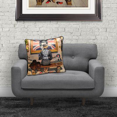 Sex Pistols Cushion Cushions Dirty Hans £ 45.00 Store UK, US, EU, AE,BE,CA,DK,FR,DE,IE,IT,MT,NL,NO,ES,SE