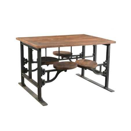 Industrial Reclaimed Wood Dining Table Smithers Archives Smithers of Stamford £ 2,445.00 Store UK, US, EU, AE,BE,CA,DK,FR,DE,...