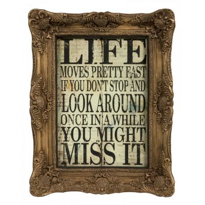 Ferris Bueller's Day Off Quote Retro Signs Smithers of Stamford £ 69.00 Store UK, US, EU, AE,BE,CA,DK,FR,DE,IE,IT,MT,NL,NO,ES,SE