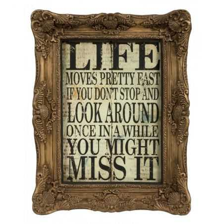 Ferris Bueller's Day Off Quote Retro Signs Smithers of Stamford £86.25 Store UK, US, EU, AE,BE,CA,DK,FR,DE,IE,IT,MT,NL,NO,ES,SE