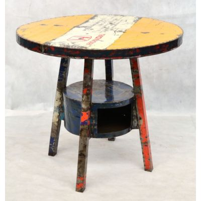 Oil Drum Table Dining Tables £ 350.00 Store UK, US, EU, AE,BE,CA,DK,FR,DE,IE,IT,MT,NL,NO,ES,SE