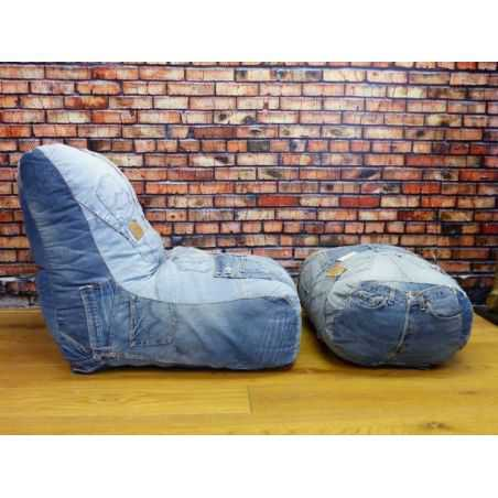 Levi Denim Gaming Chair Smithers Archives Smithers of Stamford £ 865.00 Store UK, US, EU, AE,BE,CA,DK,FR,DE,IE,IT,MT,NL,NO,ES,SE