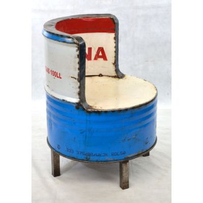 Oil Drum Seat Oil Drum Furniture Smithers of Stamford £ 270.00 Store UK, US, EU