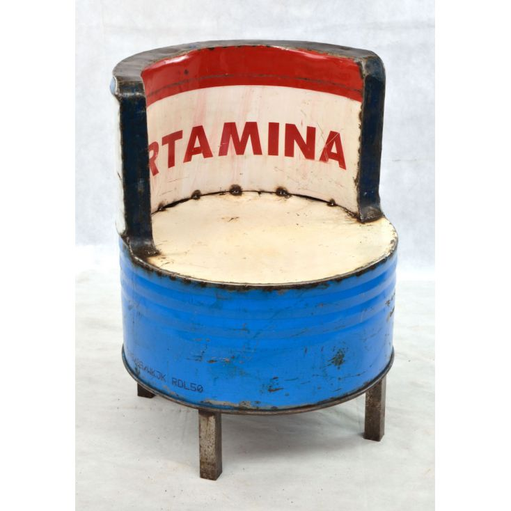 Oil Drum Seat Smithers Archives Smithers of Stamford £ 270.00 Store UK, US, EU, AE,BE,CA,DK,FR,DE,IE,IT,MT,NL,NO,ES,SE