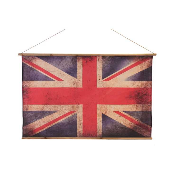 Vintage Union Jack Flag Antique Reproduction