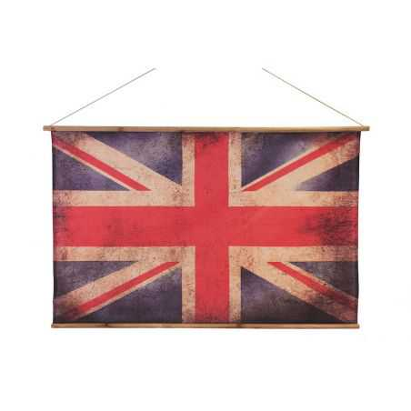 British Vintage Union Jack Flag Vintage Wall Art Smithers of Stamford £100.00 Store UK, US, EU, AE,BE,CA,DK,FR,DE,IE,IT,MT,NL...
