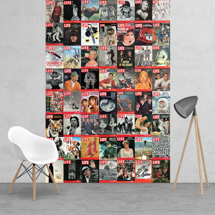 Life Magazine Vintage Wall mural Wallpaper Smithers of Stamford £ 13.00 Store UK, US, EU, AE,BE,CA,DK,FR,DE,IE,IT,MT,NL,NO,ES,SE