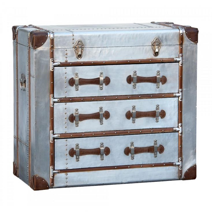 Aluminium Storage Chest With Drawers Chest of Drawers Smithers of Stamford £ 445.00 Store UK, US, EU, AE,BE,CA,DK,FR,DE,IE,IT...