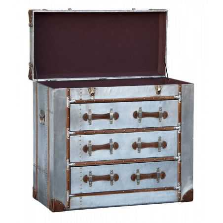 Hawker Storage Chest With Drawers Chest of Drawers Smithers of Stamford £589.00 Store UK, US, EU, AE,BE,CA,DK,FR,DE,IE,IT,MT,...