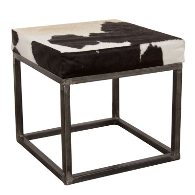 Cowhide Stool Industrial Furniture Smithers of Stamford £ 180.00 Store UK, US, EU, AE,BE,CA,DK,FR,DE,IE,IT,MT,NL,NO,ES,SE