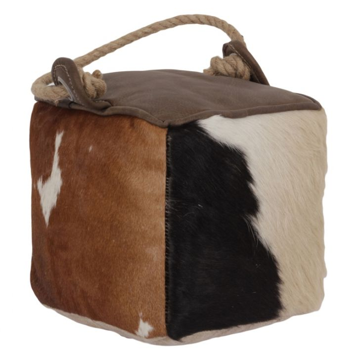 Cowhide Door stop Unique Gifts Smithers of Stamford £ 45.00 Store UK, US, EU, AE,BE,CA,DK,FR,DE,IE,IT,MT,NL,NO,ES,SE