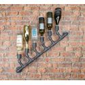 Industrial Pipe Wine Bottle Rack