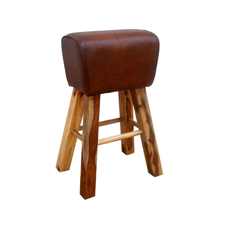 single Pommel Bar Stool