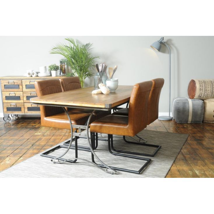 Helsing Industrial Dining Table Industrial Furniture Smithers of Stamford £ 593.00 Store UK, US, EU, AE,BE,CA,DK,FR,DE,IE,IT,...