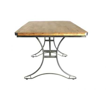 Helsing Industrial Dining Table Urban Furniture Smithers of Stamford £640.00 Store UK, US, EU, AE,BE,CA,DK,FR,DE,IE,IT,MT,NL,...