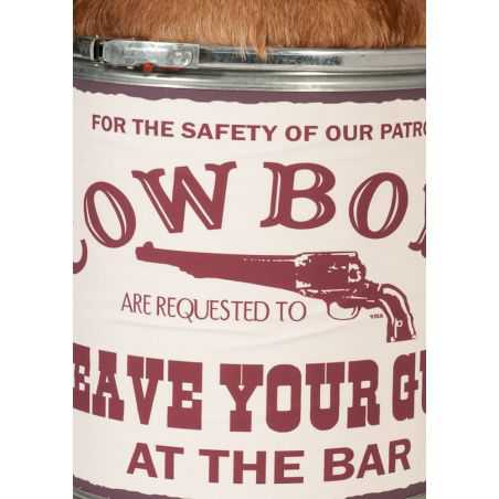 Cowboy Cowhide Stool Smithers Archives Smithers of Stamford £ 198.00 Store UK, US, EU, AE,BE,CA,DK,FR,DE,IE,IT,MT,NL,NO,ES,SE