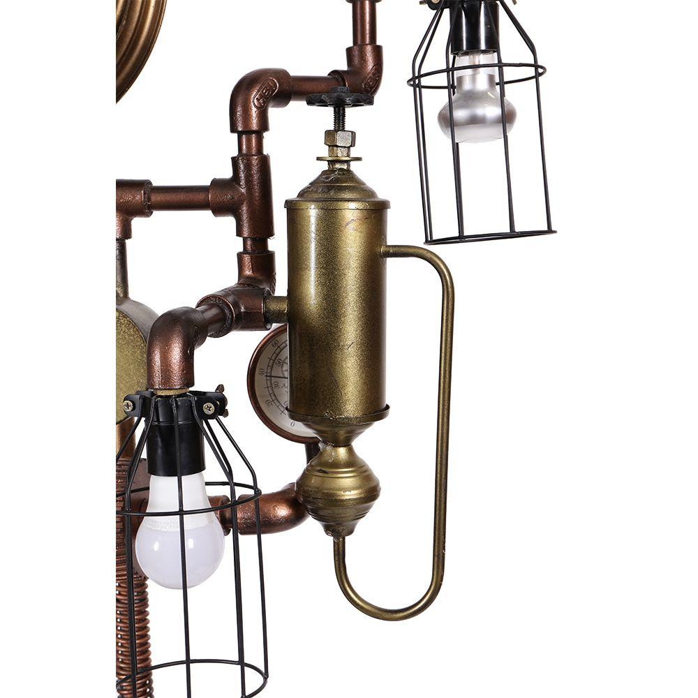 SteamPunk Floor Lamp : Lighting Shops Peterborough