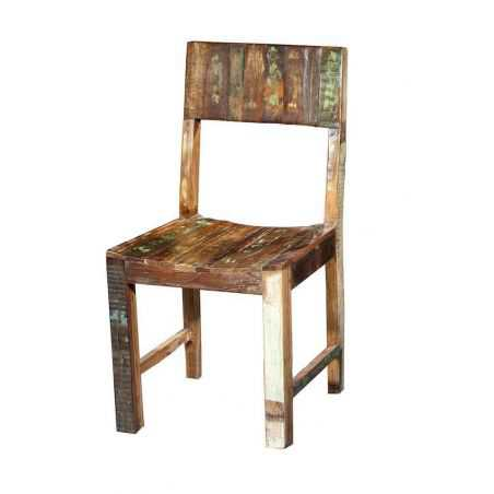 Reclaimed Wood Dining Chairs Chairs Smithers of Stamford £ 237.00 Store UK, US, EU, AE,BE,CA,DK,FR,DE,IE,IT,MT,NL,NO,ES,SE