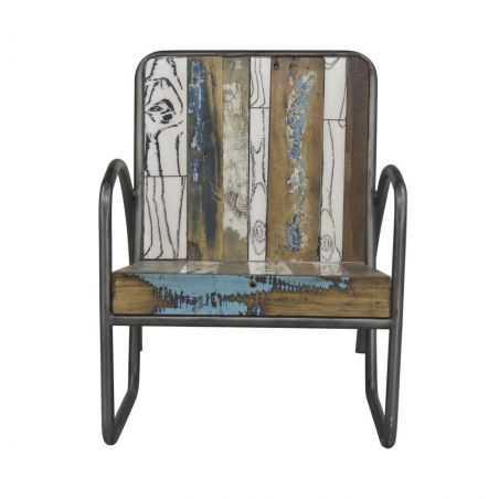 Reclaimed Wood Armchair Reclaimed Wood Furniture Smithers of Stamford £ 570.00 Store UK, US, EU, AE,BE,CA,DK,FR,DE,IE,IT,MT,N...