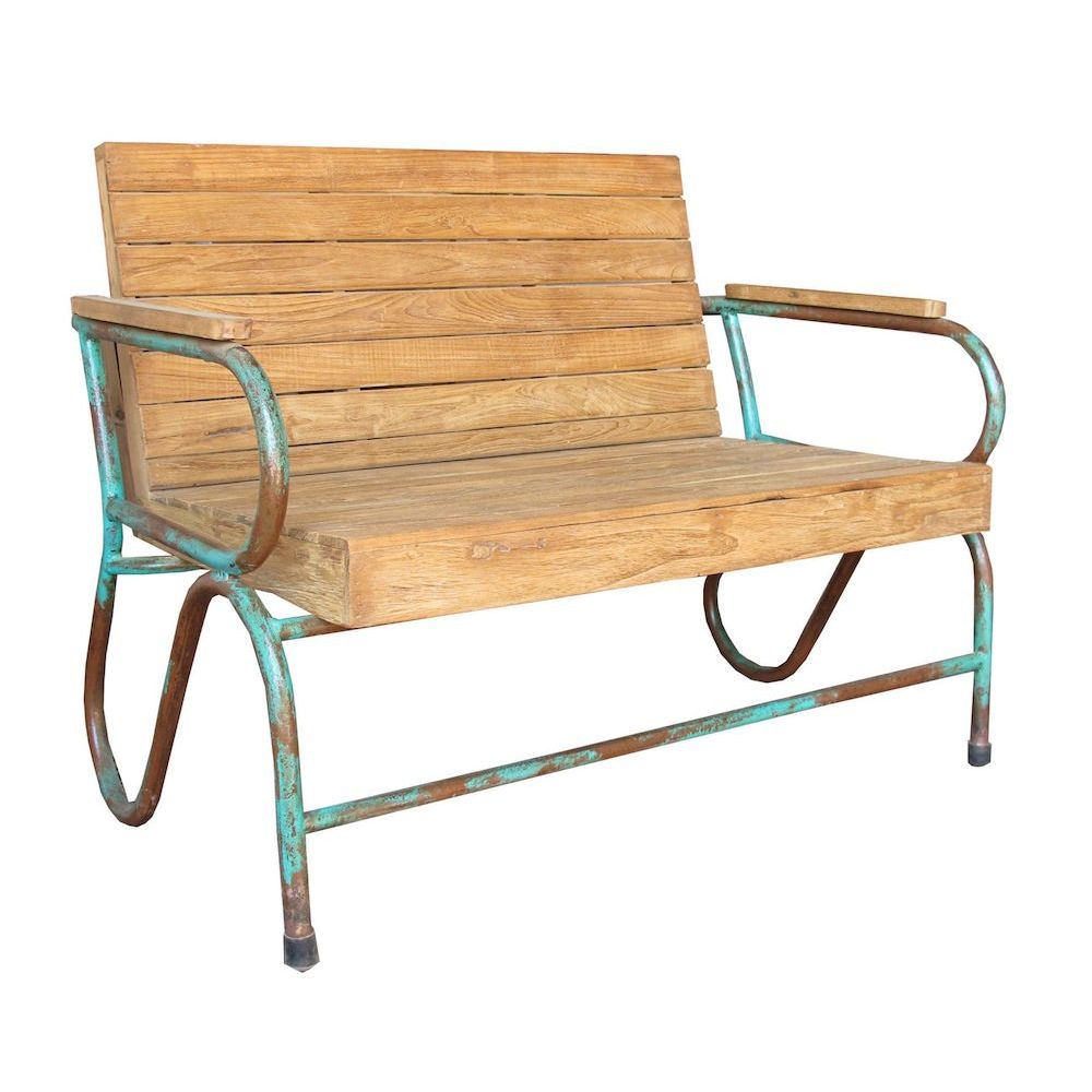Recycled Garden Bench