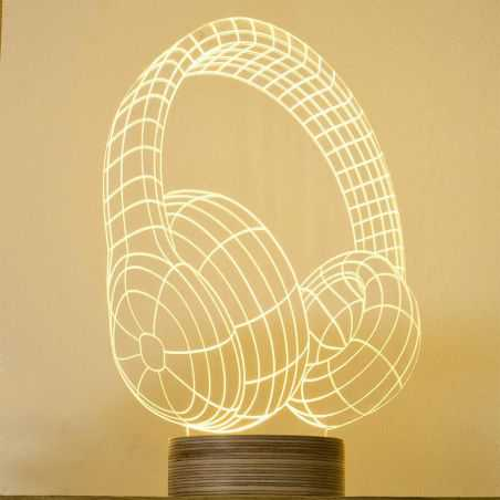 DJ Headphones Lamp Vintage Lighting   £ 145.00 Store UK, US, EU, AE,BE,CA,DK,FR,DE,IE,IT,MT,NL,NO,ES,SE