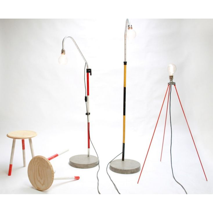 Concrete Floor Lamp Vintage Lighting £ 390.00 Store UK, US, EU