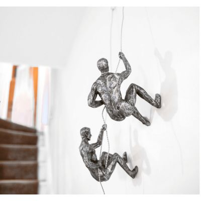 Wall Mounted Climbing Man