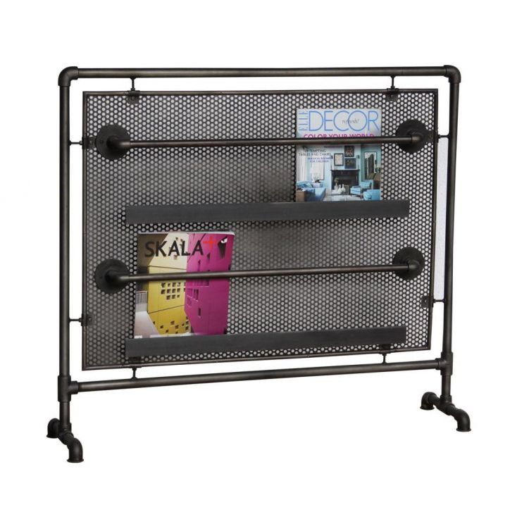 Industrial Magazine Rack Storage Furniture Smithers of Stamford £ 385.00 Store UK, US, EU, AE,BE,CA,DK,FR,DE,IE,IT,MT,NL,NO,E...
