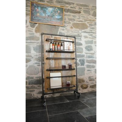 Reclaimed Wide Storage Rack