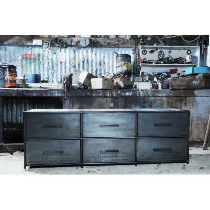 Industrial TV Stand Home Smithers of Stamford £ 1,250.00 Store UK, US, EU, AE,BE,CA,DK,FR,DE,IE,IT,MT,NL,NO,ES,SE
