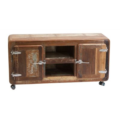 Recycled Wood Tv Unit