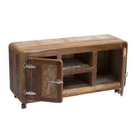 Fridge Recycled Wood Tv Unit Reclaimed Wood Furniture Smithers of Stamford £ 1,300.00 Store UK, US, EU, AE,BE,CA,DK,FR,DE,IE,...
