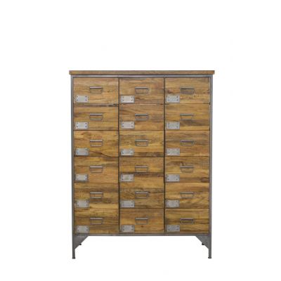 Tallboy Apothecary Chest of Drawers Industrial Furniture Smithers of Stamford 1,170.00 Store UK, US, EU, AE,BE,CA,DK,FR,DE,IE...