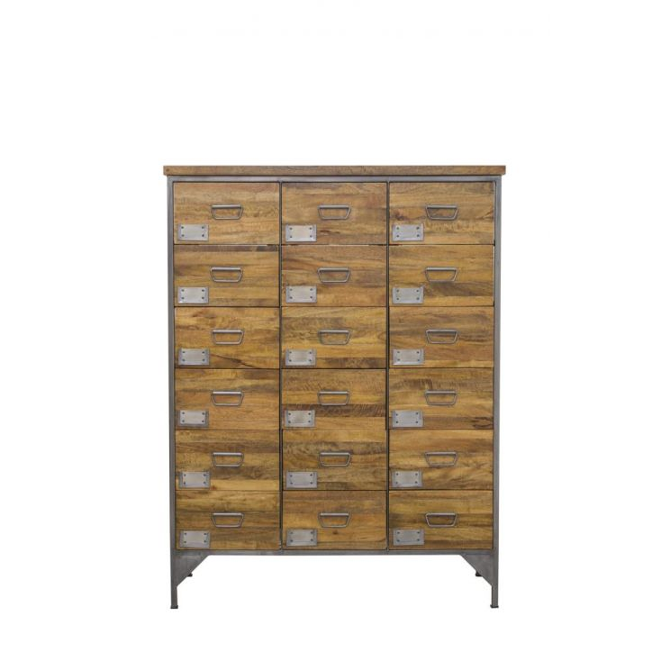 apothecary style chest of drawers