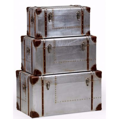 Industrial metal trunk