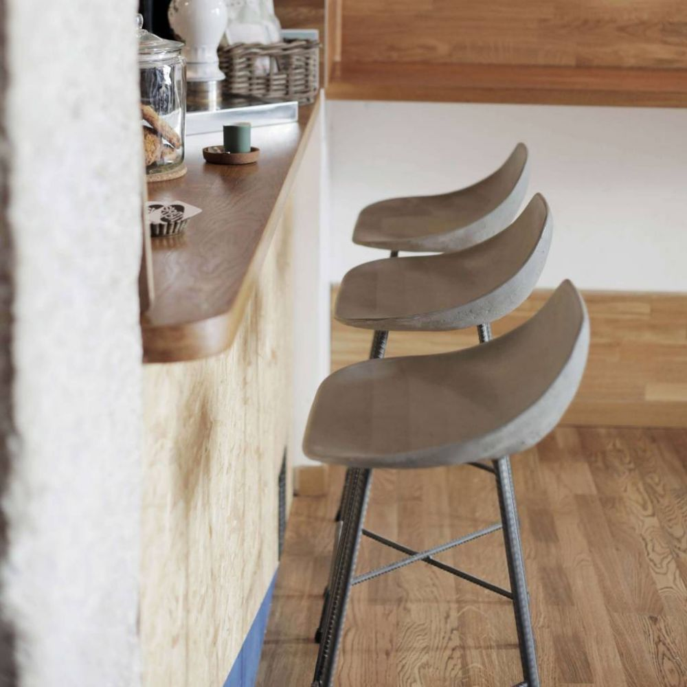 Concrete Bar Stools Hauteville Bar Chair