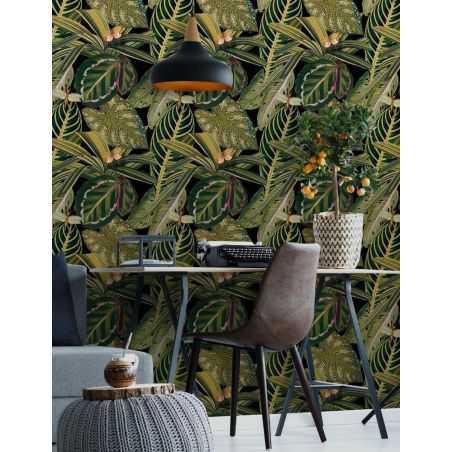 Jungle Wallpaper Retro Wallpaper Smithers of Stamford £218.75 Store UK, US, EU, AE,BE,CA,DK,FR,DE,IE,IT,MT,NL,NO,ES,SE