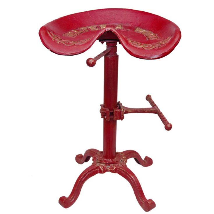 Tractor Bar Stool Industrial Furniture Smithers of Stamford £ 200.00 Store UK, US, EU, AE,BE,CA,DK,FR,DE,IE,IT,MT,NL,NO,ES,SE