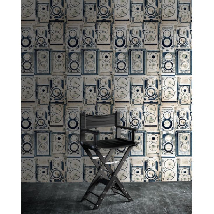 Camera Wallpaper Wallpaper Smithers of Stamford £ 150.00 Store UK, US, EU, AE,BE,CA,DK,FR,DE,IE,IT,MT,NL,NO,ES,SE