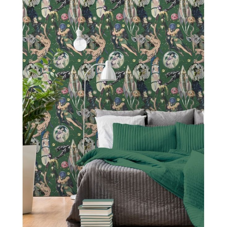 Sci-Fi Wallpaper Wallpaper Smithers of Stamford £ 150.00 Store UK, US, EU, AE,BE,CA,DK,FR,DE,IE,IT,MT,NL,NO,ES,SE