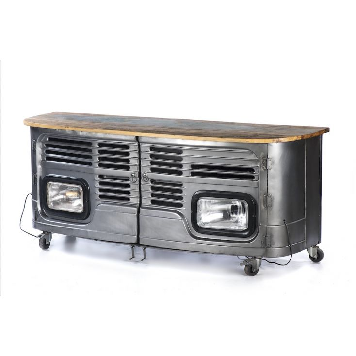 Truck TV Unit Reclaimed Wood Furniture Smithers of Stamford 1,048.00 Store UK, US, EU, AE,BE,CA,DK,FR,DE,IE,IT,MT,NL,NO,ES,SE