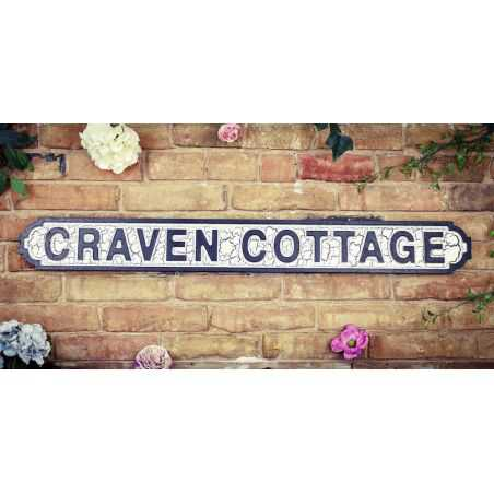 Football Street Signs Retro Gifts Smithers of Stamford £32.00 Store UK, US, EU, AE,BE,CA,DK,FR,DE,IE,IT,MT,NL,NO,ES,SE