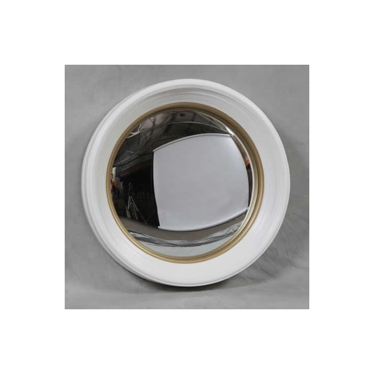 Porthole mirror fish eye convex mirrors smithers of for Porthole style mirror