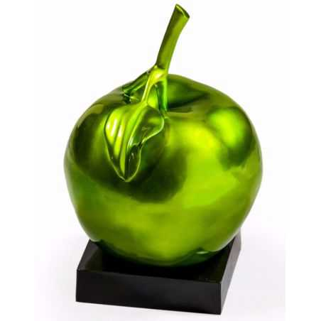 Green Apple Ornament Smithers Archives Smithers of Stamford £ 85.00 Store UK, US, EU, AE,BE,CA,DK,FR,DE,IE,IT,MT,NL,NO,ES,SE