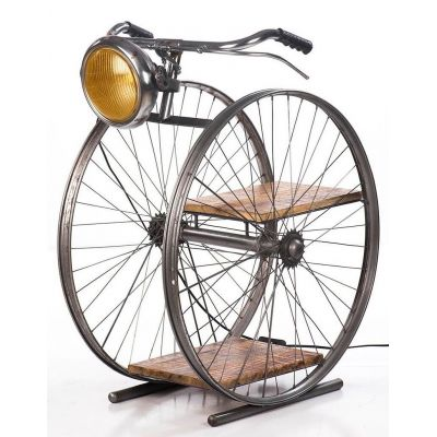 Bicycle Floor Lamp