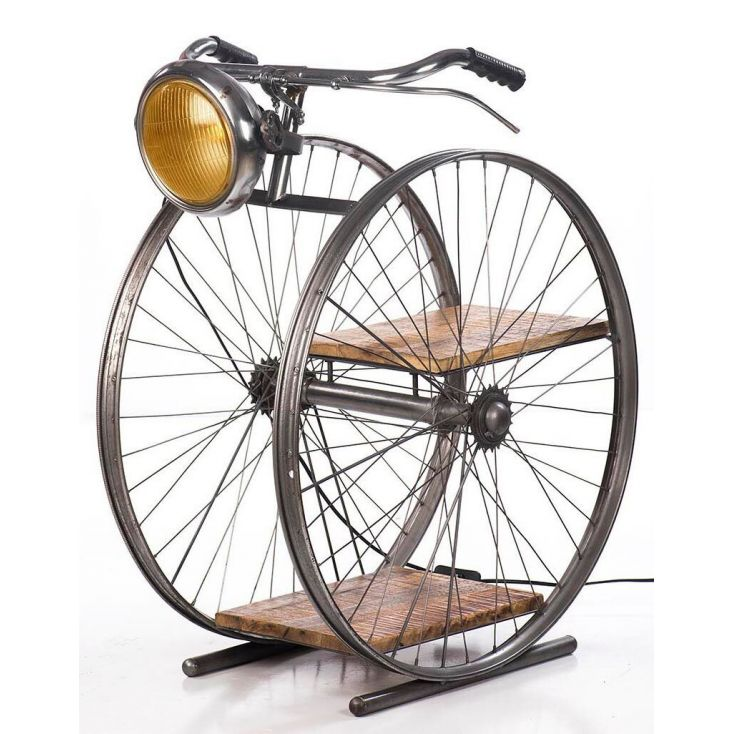 Bicycle Floor Lamp Retro Gifts Smithers of Stamford £ 320.00 Store UK, US, EU, AE,BE,CA,DK,FR,DE,IE,IT,MT,NL,NO,ES,SE