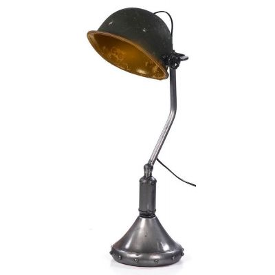Soldier Helmet Lamp Vintage Lighting £ 170.00 Store UK, US, EU, AE,BE,CA,DK,FR,DE,IE,IT,MT,NL,NO,ES,SE