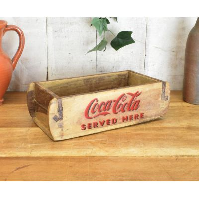 Coca Cola Wooden Crate Christmas Gifts Smithers of Stamford £ 20.00 Store UK, US, EU
